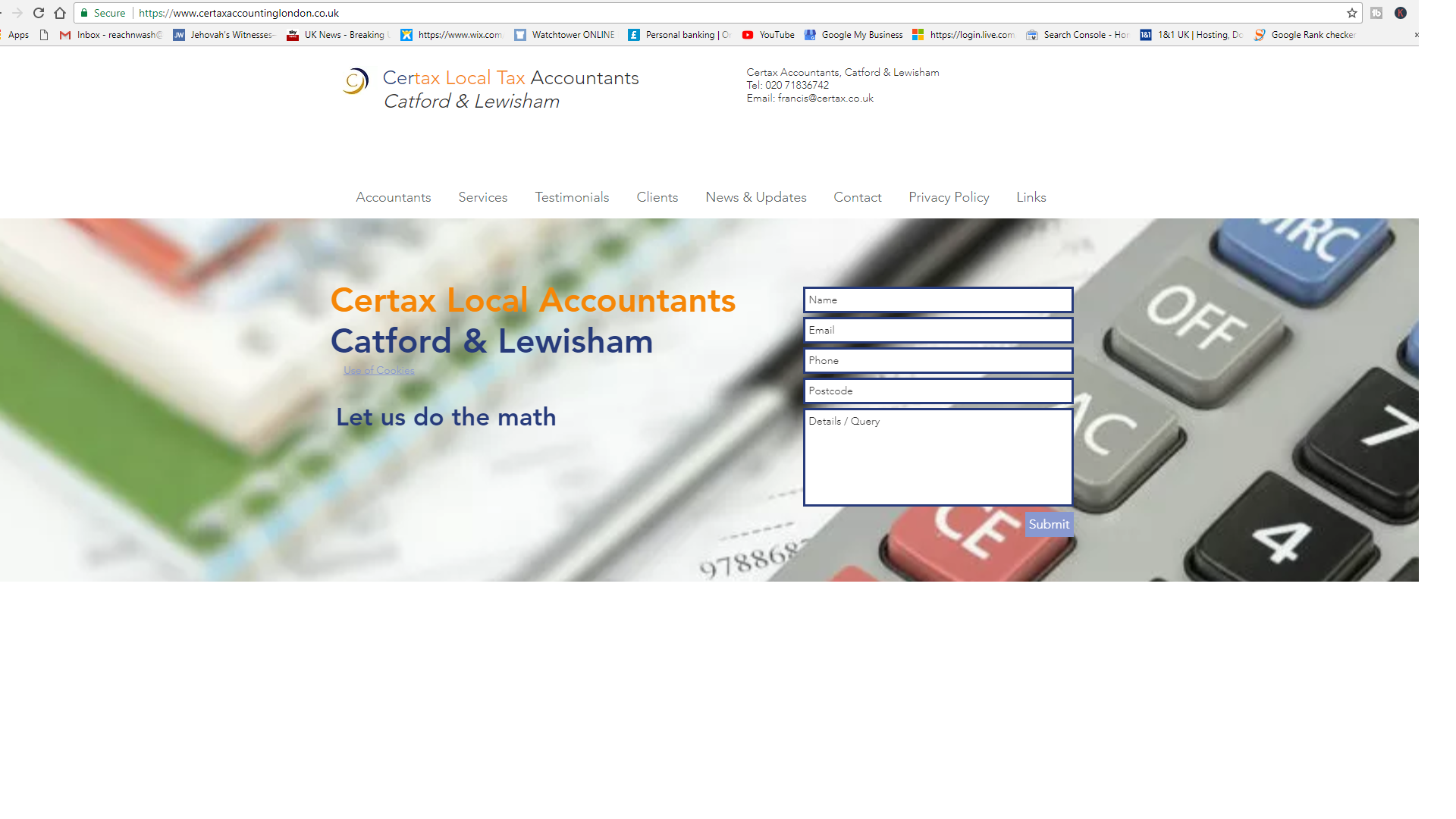 Accountants in Catford
